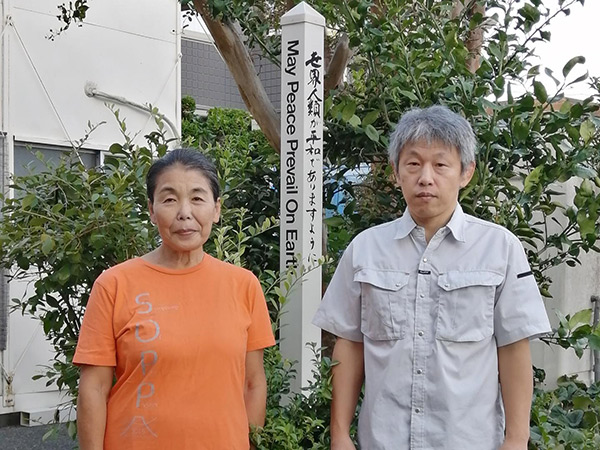 Emi-Tatara-&-Koji-Tanaka-Japanese-Peace-Pole-Makers